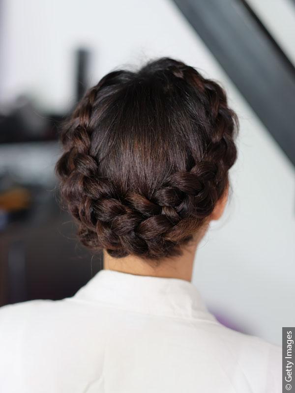 cabelo com tranças