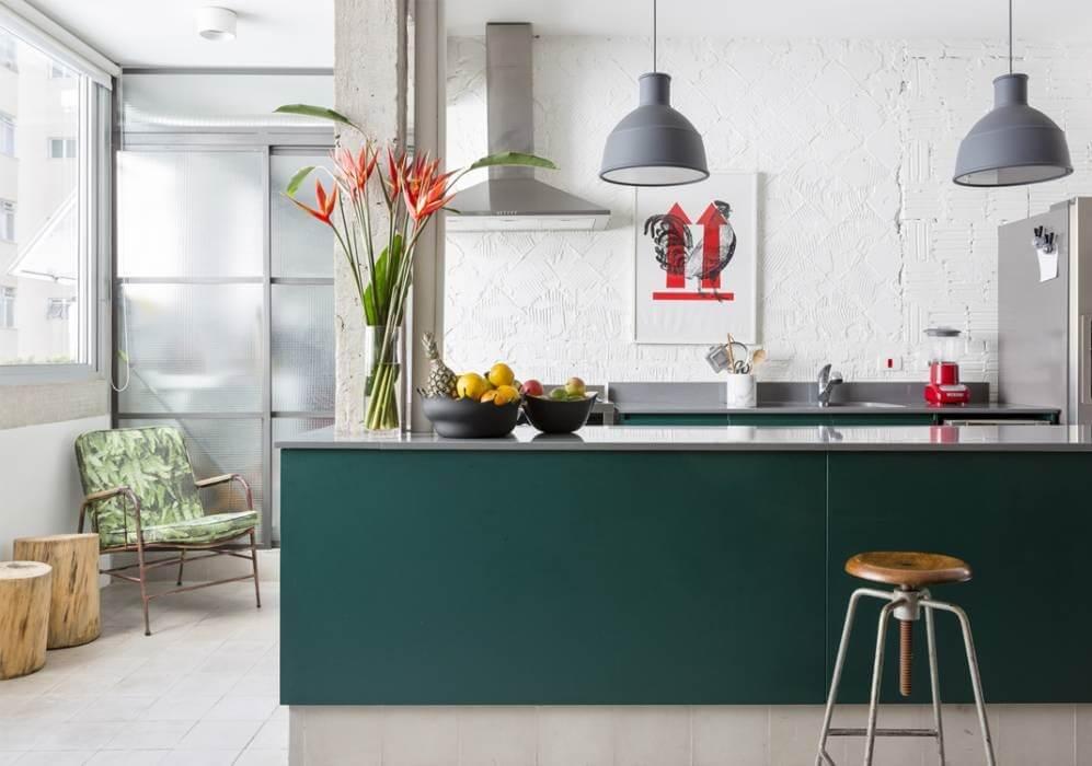 Cozinhas coloridas 14