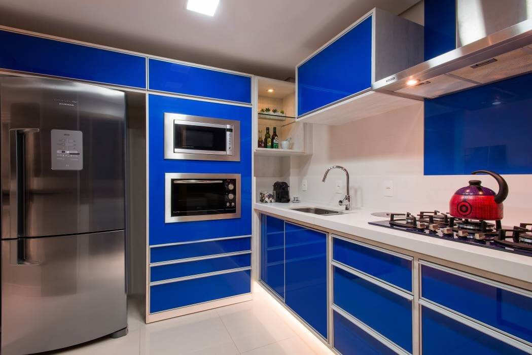 Cozinhas coloridas 19