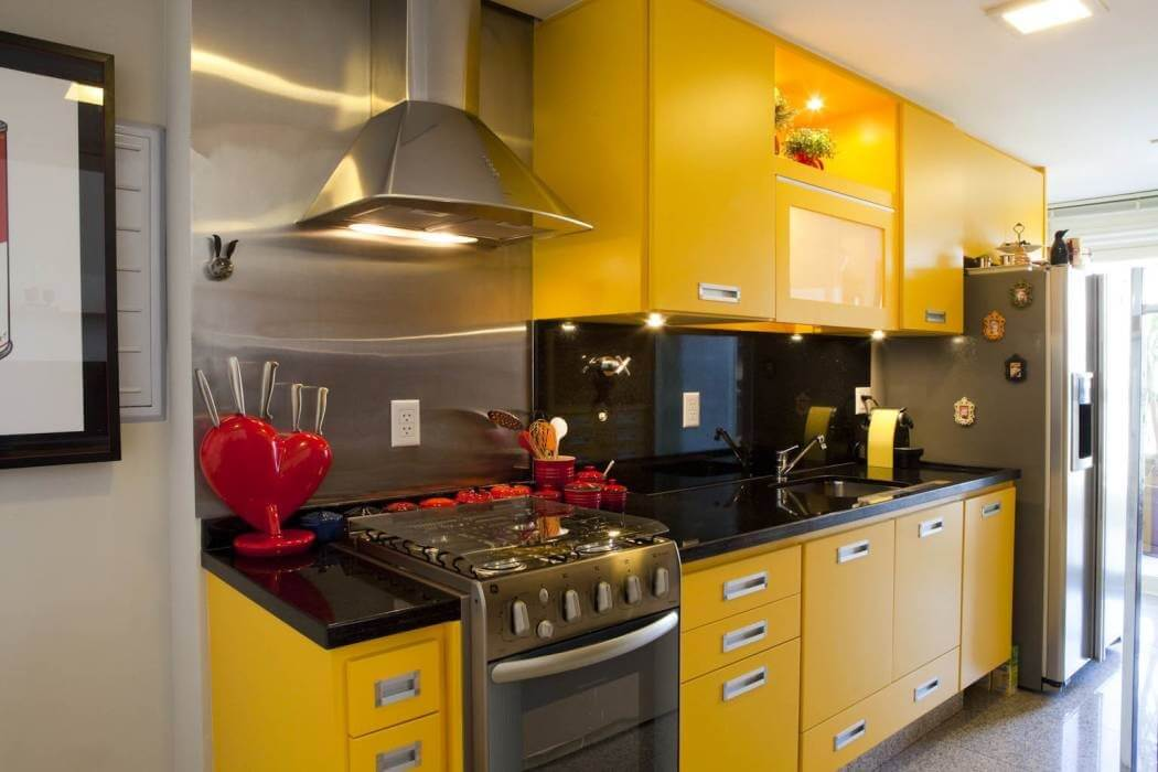 Cozinhas coloridas 3
