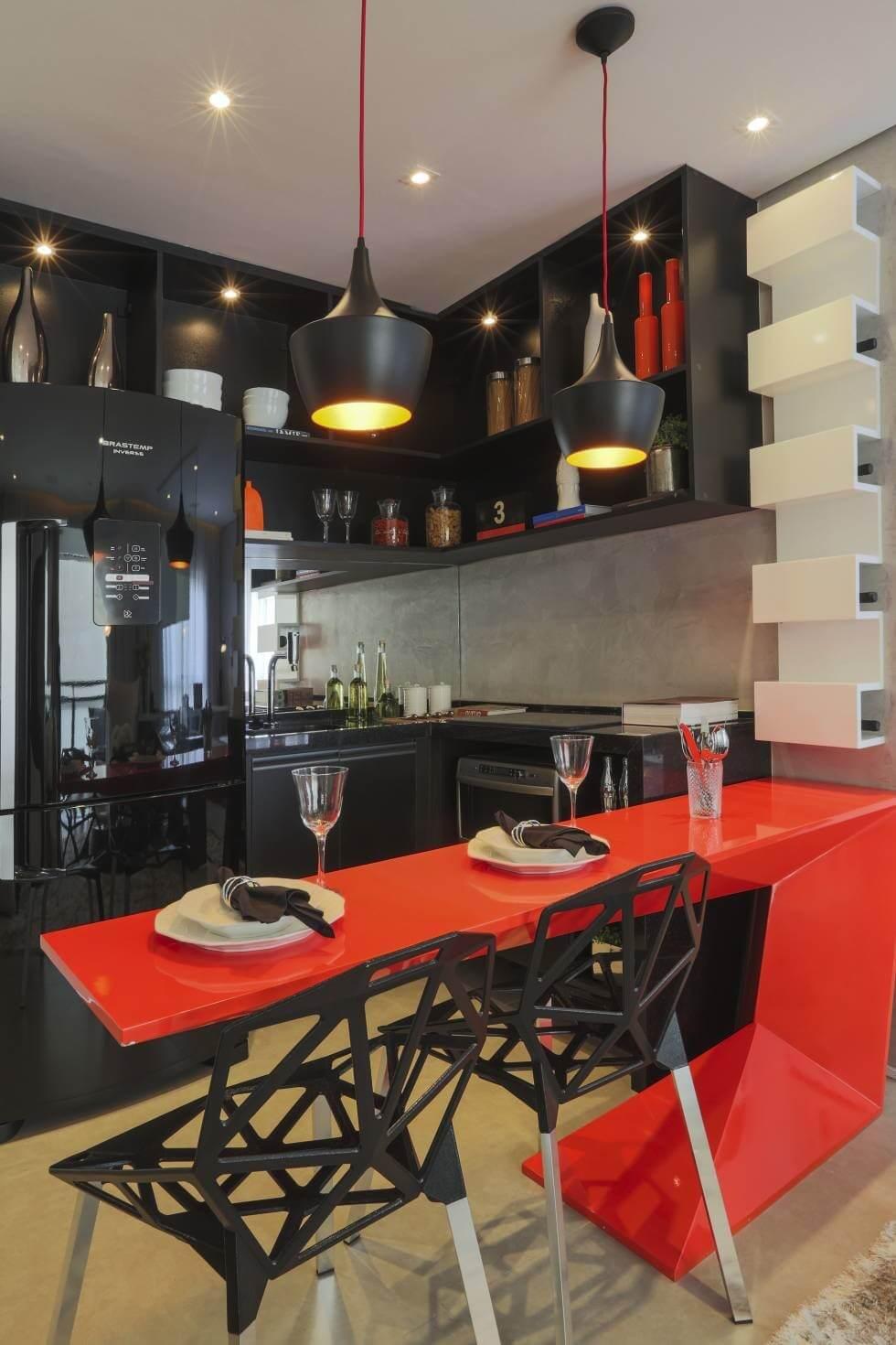 Cozinhas coloridas 8